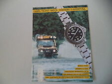advertising Pubblicità 1991 CAMEL TROPHY WATCH DIVING