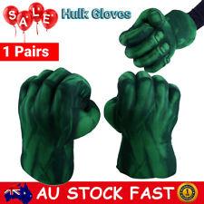 2pcs Incredible Hulk Smash Hands Plush Punching Boxing Gloves Cosplay Toy Gift