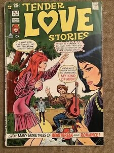 TENDER LOVE STORIES #1 (Skywald Comics 1971) VERY Hard to Find Debut Issue!! VG+