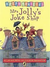 NEW - MRS JOLLY'S JOKE SHOP -  HAPPY FAMILIES  by Allan Ahlberg (original cover)