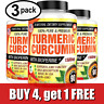 Turmeric Curcumin 1500 mg Ultra High Absorption Extra Strength 90ct - 3 PACK