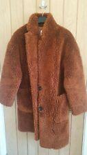 Zara Faux Fur Jacket Size L
