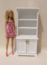 Kitchen Hutch for 12 inch doll 1:6 scale Kitchen Furniture Barbie size Dollhouse