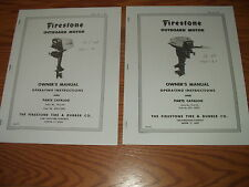 FIRESTONE_MC CULLOCH- OUTBOARD MOTOR OWNERS PARTS MANUAL~7.5 OR 12 HP~1960-61
