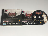 Rage Racer for PlayStation 1 /  One PS1 - Complete with manual (Black label)