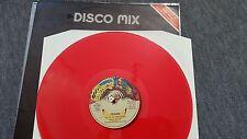 Craabs - Let's go dancing 12'' ITALO Disco RED Vinyl