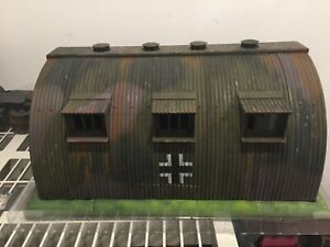 1/18 21ST CENTURY/XD/Click N' Play German Aerodrome/Command Center WW2 Diorama