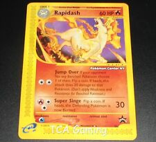 "Rapidash # 51 ""POKEMON CENTER NY"" Black Star Promo WOTC NEAR MINT Card"