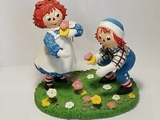 Danbury Mint Raggedy Ann and Andy Collector Figurine, 1998 Simon & Schuster