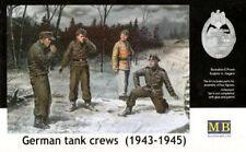 GERMAN TANK CREW in inverno le uniformi (1943-45)/4 FIG./1/35 Masterbox