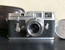 New ListingLeica M3 Single Stroke Camera & 35mm 3.5 Summaron Lens + Case Tested & Working