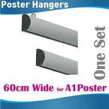 60cm A1 Poster Hanger Gripper Poster hanging rail hanging rails