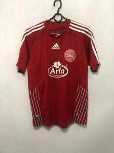 Denmark National Team Adidas Football Soccer Trikot Jersey Shirt Home S 2009