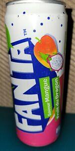 Fanta Dragonata Soda Can Dragon Fruit Foreign Exotic Cola France French 330 mL