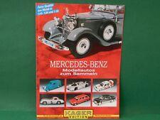 Modellautokatalog Mercedes Benz Kager Edition Katalog catalogo Modellautos