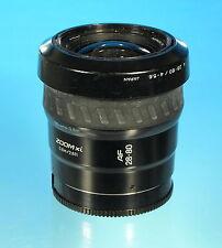 Minolta AF 28-80mm / 4-5.6 für Sony Minolta A Objektiv lens objectif - (80544)