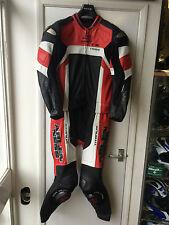 ARLEN NESS TITANIUM 2 PIECE LEATHER MOTORCYCLE SUIT SIZE 40 LEATHERS