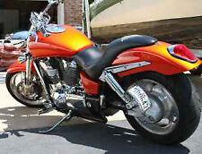 Rolled License plate Relocator Honda VTX 1800 1300 All years Side Mount Bracket