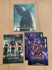 CAPTAIN AMERICA The Winter SoldierJapan PROGRAM Pressbook + flyer x3! THOR Hulk