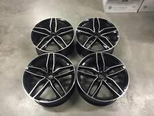 "20"" Audi RS6 Style Alloy Wheels Gloss Black Machined Audi A4 A5 A6 A7 A8 5x112"