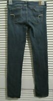 American Eagle Outfitters jeans womens size 4 reg blue denim stretch Skinny