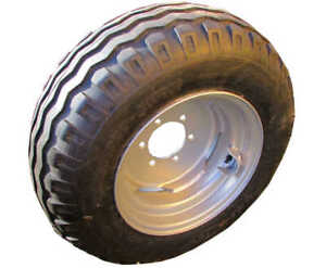 NEW 10.0/75 x 15.3 Wheel & Tyre assembly **for 2wd 6 stud tractor fronts - 152mm