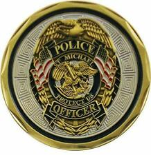 St Michael Police Officer Badge Law Enforcement Collectible Challenge Coin