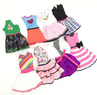 Beautiful Handmade Fashion Clothes Dress For Barbie Doll Cute Lovely Decor LN