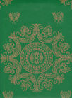 $4 SAMPLE: Waterhouse Historic Reproduction Wallpaper Napoleon Empire Bee Damask