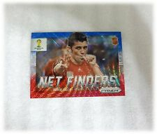2014 Panini Prizm World Cup Blue Red Wave Net Finders David Villa Spain #22