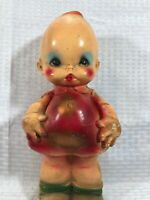 Vintage. Baby Doll Angel Bank.  Early 50s?.Unfinished. 12.5 ""