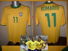 Brazil Brasil Adult XL ROMARIO Vintage Shirt Jersey Soccer 2001 NIKE Football H