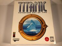 TITANIC Adventure Out of Time Rare Big Box PC Game NEW SEALED