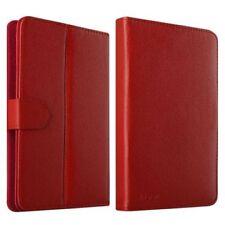 Fundas y carcasas color principal rojo de piel sintética para teléfonos móviles y PDAs Apple