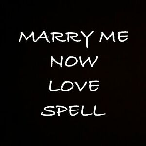 Marry Me Now Love Spell Kit Connection Passion Marriage Wedding Vows Couple