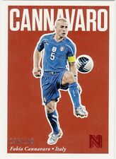 2017 Panini Nobility Soccer Red Parallel #49 Fabio Cannavaro Italy 136/199