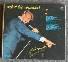 Johnny Hallyday, salut les copains - edition luxe avec poster, CD