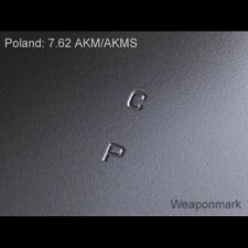 Weaponmark Polish selector etching etch stencil 7.62x39  Early Stamped