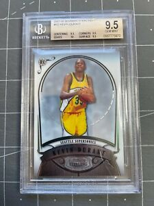 2007 Bowman Sterling Kevin Durant Rookie RC BGS 9.5 GEM MINT w/10