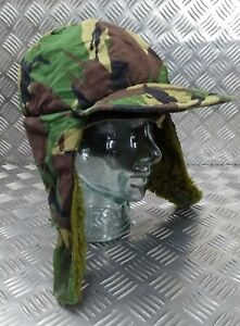 Genuine British ARMY Falklands DPM Camo Cold Weather Field Hat Size 58cm FLK01