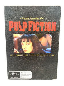 Pulp Fiction 10th Anniversary 2-Disc Collectors Edition DVD Free Tracked Post
