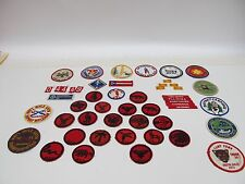 LOT OF 50 CUB / BOY SCOUTS BSA NRA PATCHES