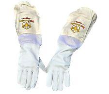 Beekeeping Goatskin Gloves Goatskin And Canvas X Large