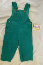 Vintage 1980's Perfect Pals Courderoy Overalls 18 Mos Nwt
