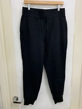 Lululemon Cool And Collected Jogger NWT Size 10 Black Drawstring Waist Pants 7/8