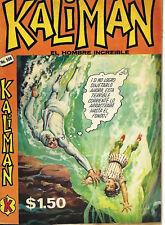 Kaliman El Hombre Increible #508 - Agosto 22, 1975 - Mexico