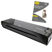A4/A3 Laminator Machine Hot Roller And Laminating Pouches 150/250 Micron
