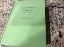 California A History, Andrew F. Rolle, Second Edition