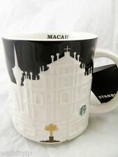 Starbucks City Mug Relief Macau New 16oz Coffee 2015 original sign date of creat