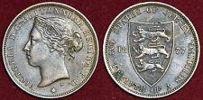 Jersey 1/12 shilling 1877 victoria